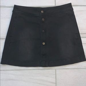 Kenneth Cole high waisted button up skirt